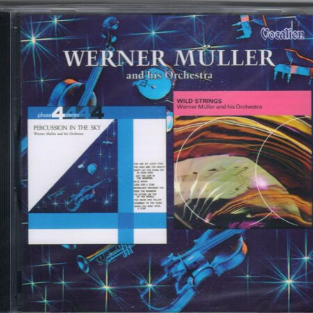 Werner Muller And His Orchestra - Wild Strings & Percussion In The Sky  /  Cd 1 2004 Vocalion Austria