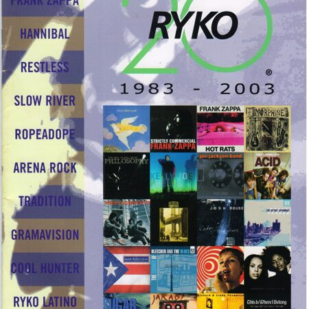 Catalogue - Ryko 1983-2003 (20) -  /  Книга 1