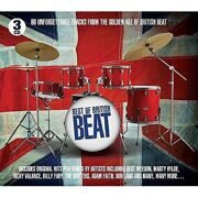 Various Artists - Best Of British Beat - Lonnie Donegan Alma Cogan Tommy Steele Bert Weedon Lonnie Donegan Cliff Richard /  Cd 3