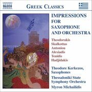 Theodorakis-Cretan Concertino - Impressions For Saxophone And Orchestra /  Cd 1
