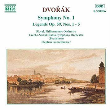 Dvorak - Symphony No. 1 / Legends Op. 59, Nos. 1-5  -   /  Cd 1  Naxos Import