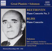 Beethoven / Bliss - Piano Concertos  - Solomon 1943-1944   /  Cd 1  Naxos Germany