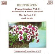 Beethoven - Piano Sonatas N1-3 Op. 2 - Jeno Jando  /  Cd 1  Naxos Germany