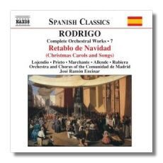 Rodrigo - Complete Orchestral Works 7  -   /  Cd 1  Naxos Germany