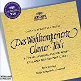 Bach - Well-Tempered-Clavier Book  I  - Ralph Kirckpatrick, Clavicord /  Cd 2