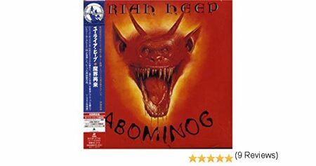 Uriah Heep - Abominog (Japan Мини-Винил New) /  Cd 1