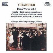 Chabrier - Piano Works  Vol. 3  -  /  Cd 1