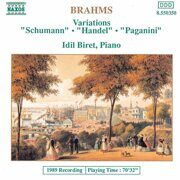 Brahms - Variations Opp. 9, 24 And 35 -  /  Cd 1