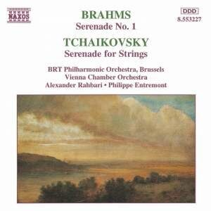 Brahms / Tchaikovsky - Serenade 1 / Serenades For Str. - - /  Cd 1
