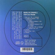 Marilyn Crispell - For Coltraine. /  Cd 1