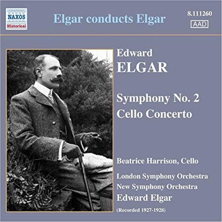Elgar - Symphony No. 2 / Cello Concerto (Harrison, Elgar) (1927-28)  -  /  Cd 1