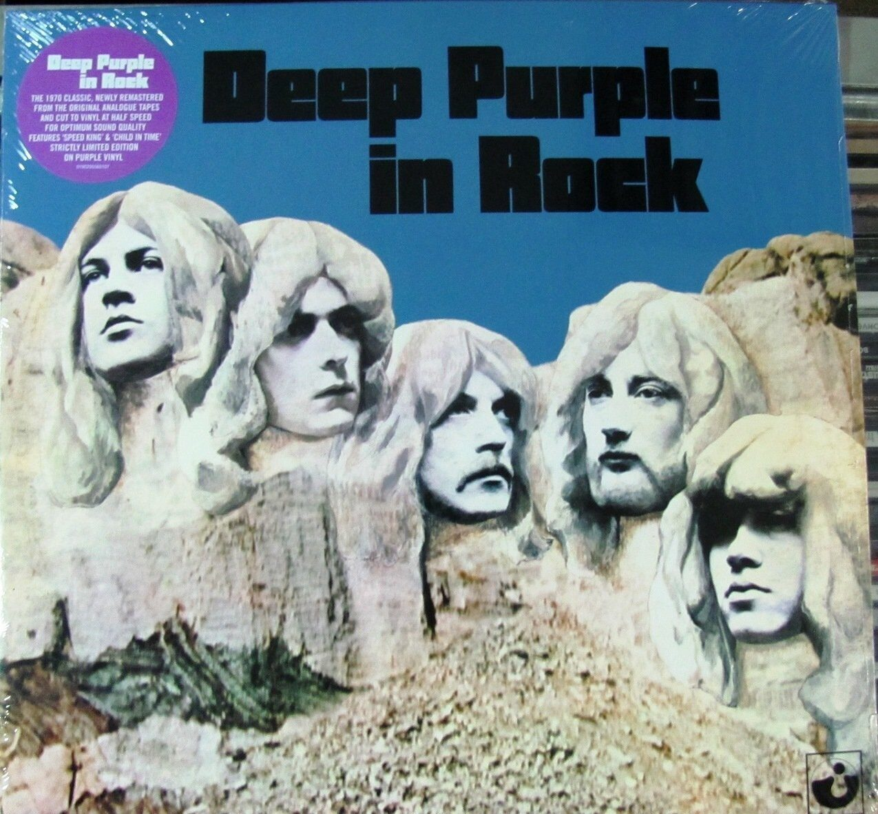Винил LP Deep Purple in Rock