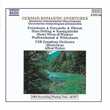 German Romantic Overtures  -   /  Cd 1  Naxos Import
