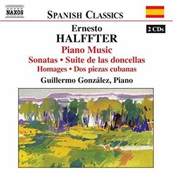 Halffter, E. - Piano Music  -   /  Cd 2  Naxos Import