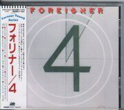 Foreigner - 4  /  Cd 1 1981 Atlantic Japan