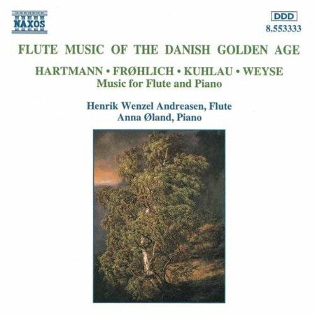 Flute Music Of The Danish Golden Age  -   /  Cd 1  Naxos Import