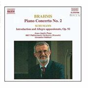 Brahms-Piano Concerto No. 2/Schumann, R-Introduction And Allegro Appassinato -   /  Cd 1  Naxos Germany