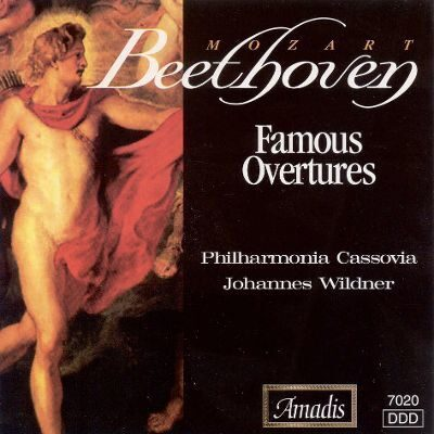 Beethoven / Mozart - Famous Overtures -   /  Cd 1  Amadis Gz