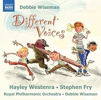 Wiseman, D. - Different Voices (Royal Philharmonic Orchestra, Wiseman)  -   /  Cd 1  Naxos Import