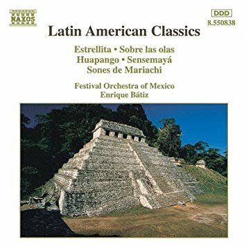 Various Artists & Composers - Latin American Classics (Regular)   /  Cd 1  Naxos Germany