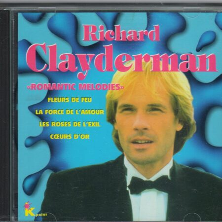 Richard Clayderman - Romantic Melodies  /  Cd 1 1995 Selected Sound —ҐеЁп