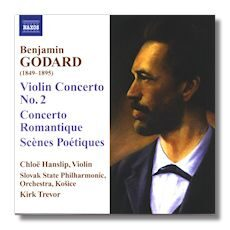 Godard - Violin Concerto No. 2 / Concerto Romantique  -   /  Cd 1  Naxos Germany