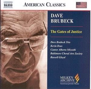 Brubeck - Gates Of Justice  - (Dave Brubeck)  /  Cd 1  Naxos Import