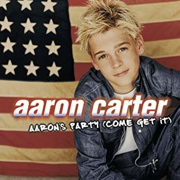 Aaron Carter - Aaron'S Party (Come Get It)  /  Cd 1 2000 Jive ‹Ґўл©