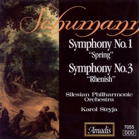 Schumann - Symphonies Nos. 1 And 3  -   /  Cd 1  Amadis Cz
