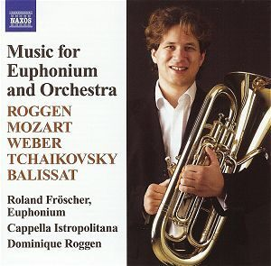 Mozart/Tchaikovksy/Balissat - Music For Ephroniun And Orchestra - Roland Froscher  /  Cd 1  Naxos Germany
