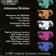 Brahms - Vocal And Piano Music -   /  Cd 1  Bis Import