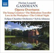 Gassmann, F.L. - Opera Overtures   - (Eclipse Chamber Orchestra, Alimena)  /  Cd 1  Naxos Import