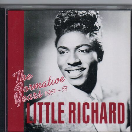 Little Richard - The Formative Years 1951-53  /  Cd 1 1989 Bear Family Germany