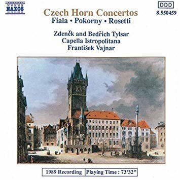 Fiala / Pokorny / Rosetti - Concertos For 2 Horns -   /  Cd 1  Naxos Import