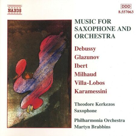 Music For Saxophone And Orchestra  -   /  Cd 1  Naxos Import