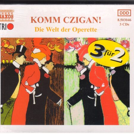 Various Artists / Komm Czigan! Die Welt Der Operette (Boxed Set) (Cd 3) -   /  Cd 3  Naxos Import