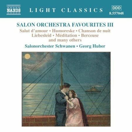 V/A - Salon Orchestra Favourities Vol3 - George Huber   /  Cd 1  Naxos Germany