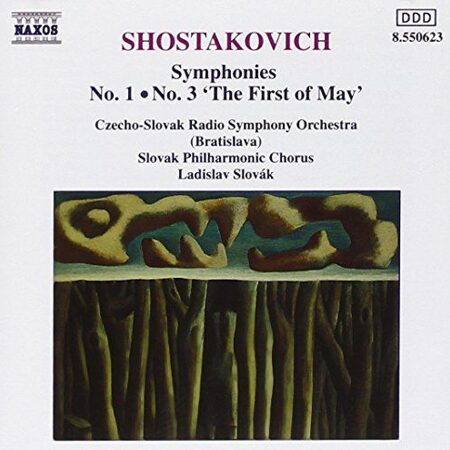 Shostakovich - Symphonies 1&3 -   /  Cd 1  Naxos Germany