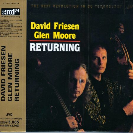 David Friesen / Glen Moore - Returning  /  Xrcd 1  Sony Japan