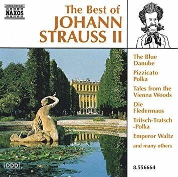 Strauss Ii, J.  - Best Of -   /  Cd 1  Naxos Germany