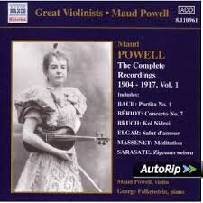 Maud Powell - Complete Recordings, Vol. 1 (1904-1917)  -   /  Cd 1  Naxos Import
