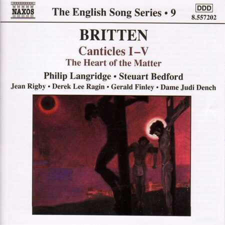 Britten-Canticles Nos. 1-5/The Heart Of The Matter -   /  Cd 1  Naxos Import