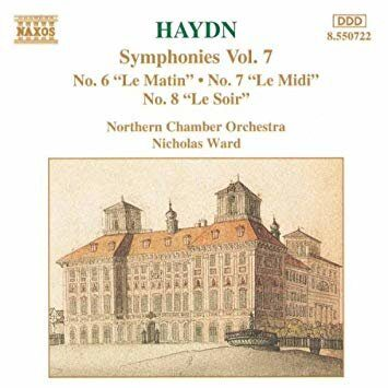 Haydn - Symphonies 6-8 - Northern Chamber Orchestra / Nicholas Ward  /  Cd 1  Naxos Germany
