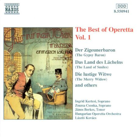 V/A Best Of Operetta, Vol. 1  -   /  Cd 1  Naxos Import