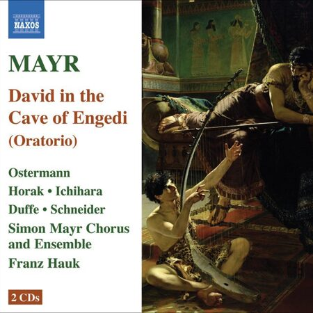 Mayr - David In Spelunca Engaddi (David In The Cave Of Engaddi) -   /  Cd 2  Naxos Import