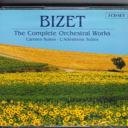 Bizet - The Complete Orchestral Works (Cd 3) -   /  Cd 3  Brilliant Import