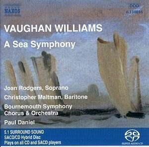 Vaughan Williams - Symphony N 1 - A Sea Symphony  -   /  Sacd 1  Naxos Germany