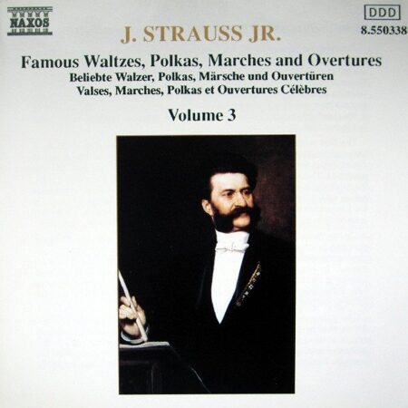 Strauss Ii, J. - Waltzes, Polkas, Marches And Overtures Vol. 3  -   /  Cd 1  Naxos Germany