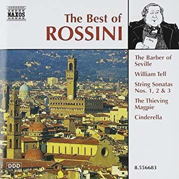 Rossini - The Best Of -   /  Cd 1  Naxos Germany